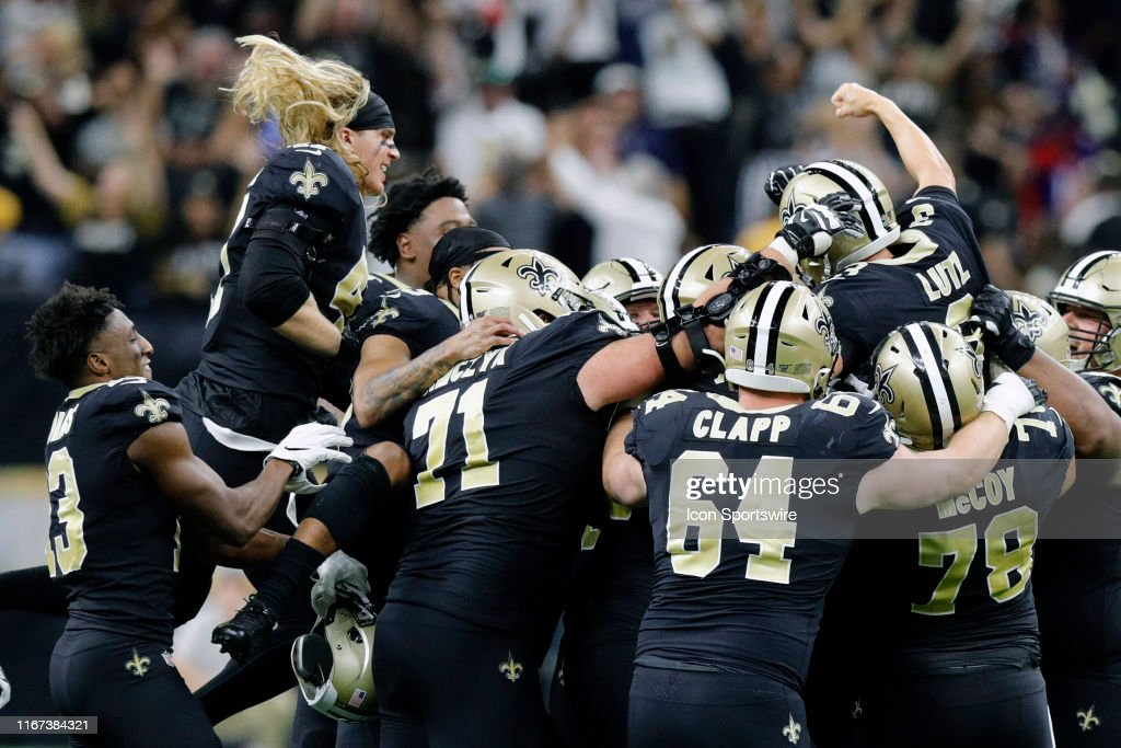 NFL: SEP 09 Texans at Saints : ニュース写真