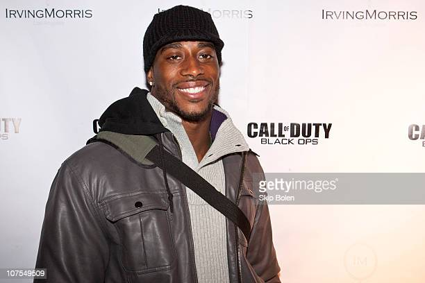 New Orleans Saints player Roman Harper attends Activision's Call of Duty: Black Ops and IrvingMorris present NFL Superbowl Champion, of the New...