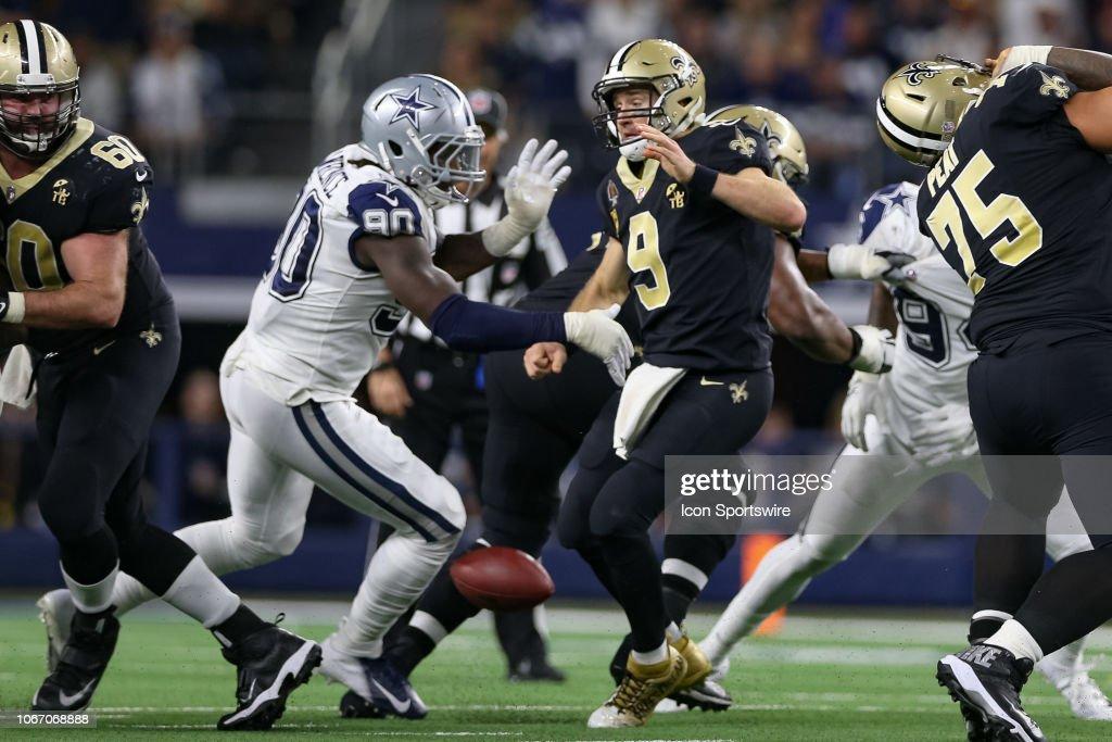NFL: NOV 29 Saints at Cowboys : News Photo