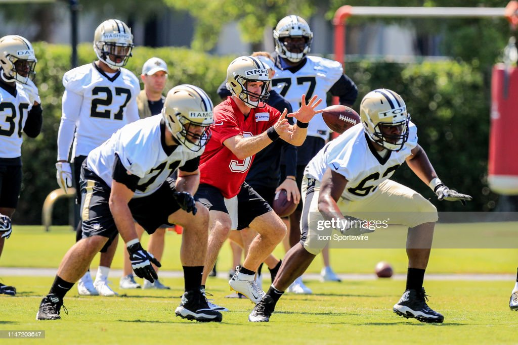 NFL: MAY 30 New Orleans Saints OTA : News Photo