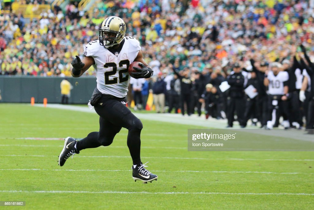 NFL: OCT 22 Saints at Packers : News Photo
