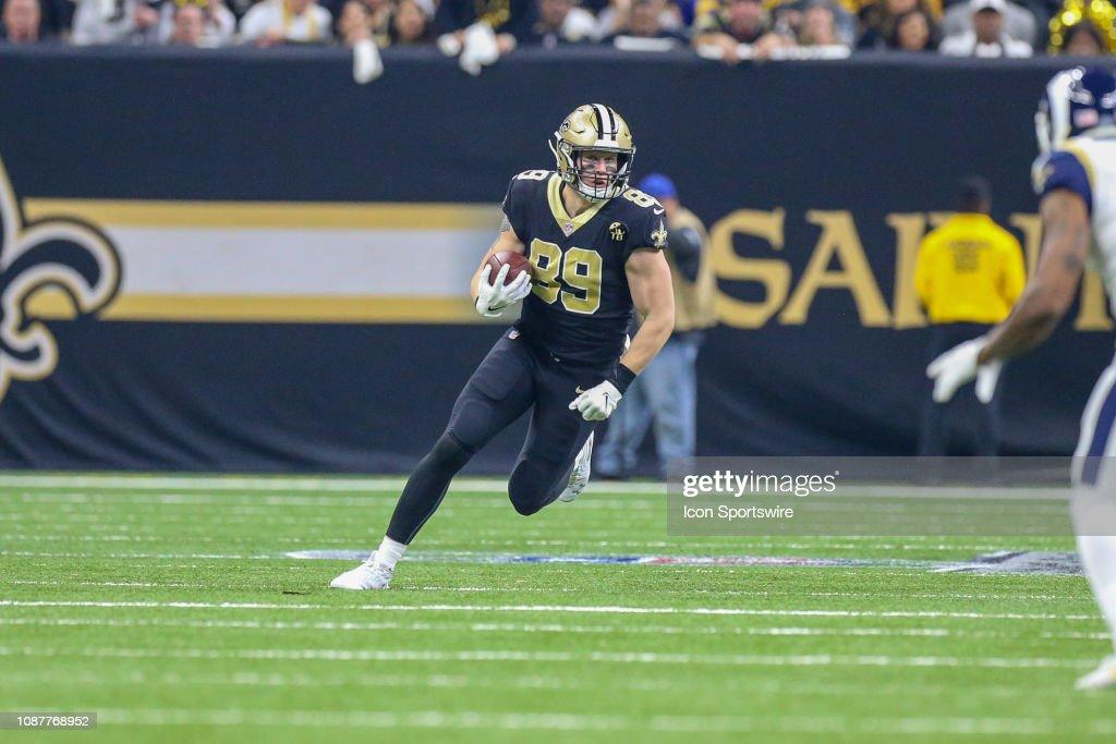 NFL: JAN 20 NFC Championship Game - Rams at Saints : News Photo