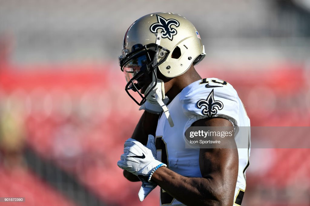 0e019f384 ... New Orleans Saints wide receiver Michael Thomas (13) prior to an NFL  game between ...