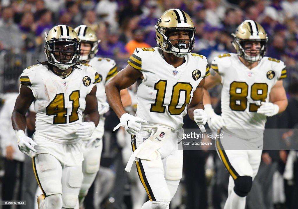 NFL: OCT 28 Saints at Vikings : News Photo