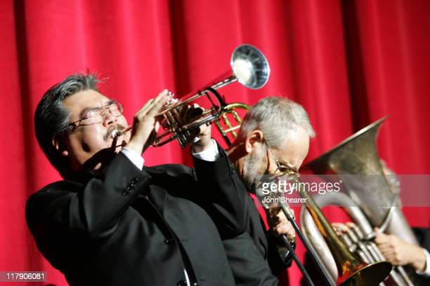 New Orleans Six during 8th Annual Music on Film Preservation Project New Orleans Rising at Wilshire Ebell Theater in Los Angeles California United...
