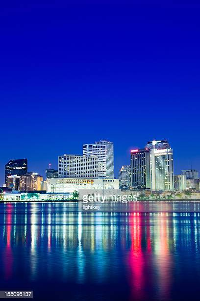 new orleans skyline - new orleans city stock pictures, royalty-free photos & images