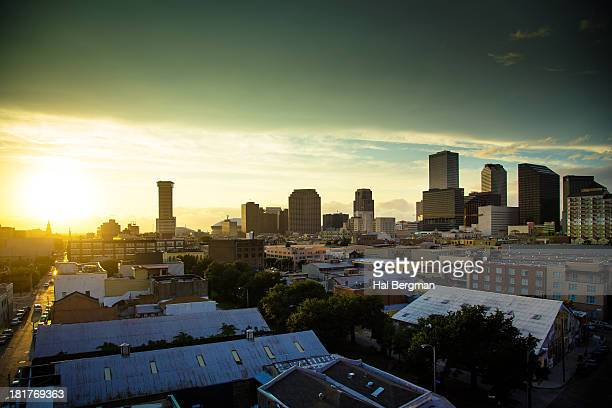 new orleans skyline - county stock pictures, royalty-free photos & images
