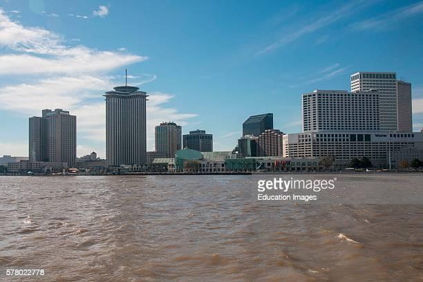 New Orleans Waterfront Skyline, Louisiana.