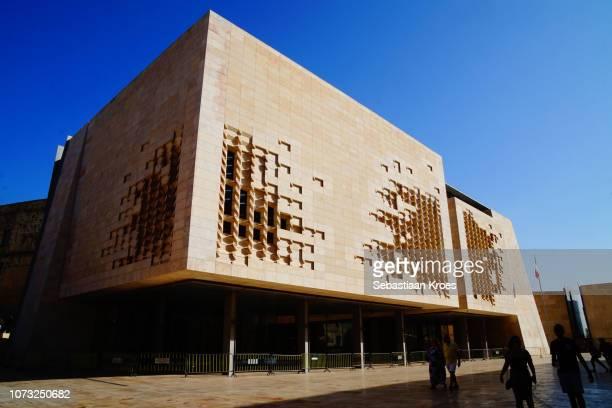 New Parliament House in the Sunshine, Valletta, Malta