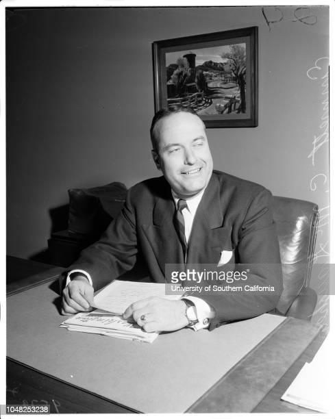 New Police Commissioner, 22 May 1952. Emmett C McGaughey ..