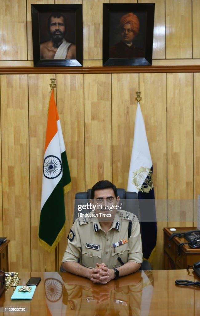 IND: Anuj Sharma Takes Over As Kolkata Police Commissioner