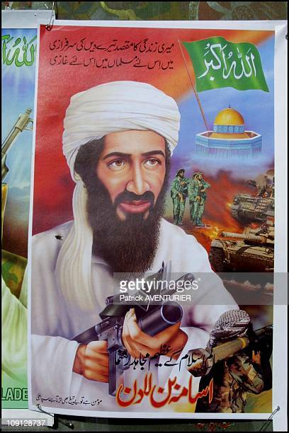 New Poster Of Osama Ben Laden On January 10Th Pakistan