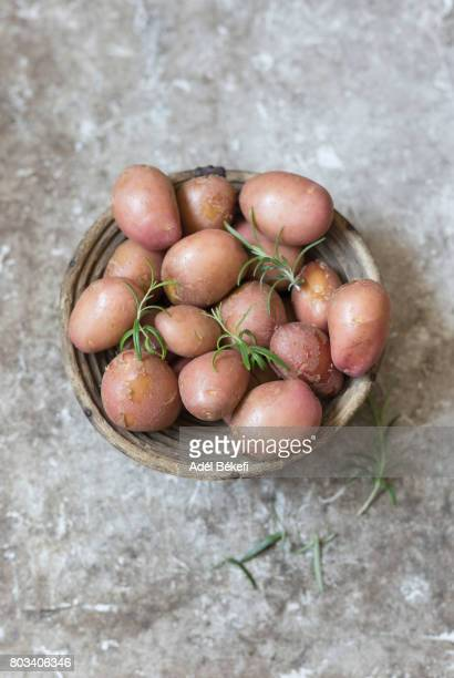 new potatoes with rosemary