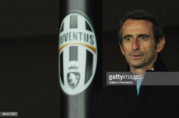 New President JeanClaude Blanc of Juventus FC looks on during the Serie A match between Juventus FC and UC Sampdoria at Olimpico Stadium on October...