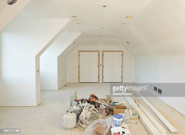 Neue orientierte Zimmer im wohnlichen Baustelle