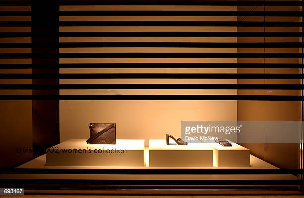 3b4cdc4dcd7 New products sit in a window display at the Gucci store on Rodeo Drive  January 12