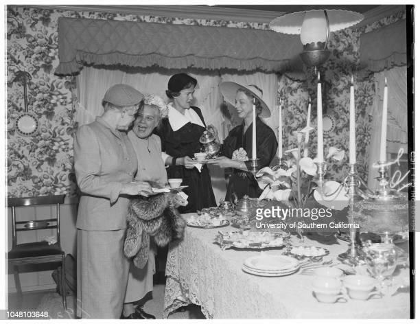 New Provisionals of Flintridge Guild of Children's Hospital, 10 May 1951. Mrs Allan H. Crary;Mrs Frank Doherty;Mrs Marion R Gray;Mrs Jason L...