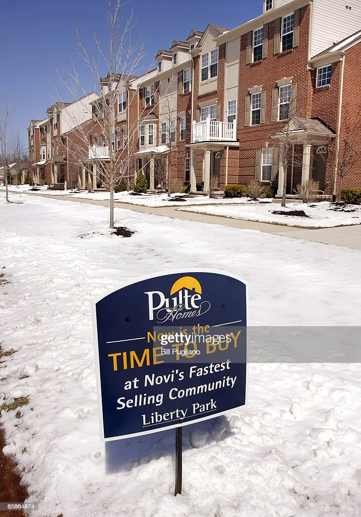 A new Pulte Homes Inc  subdivision is shown April 8, 2009 in