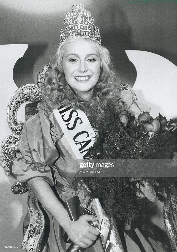 New queen: Edmonton's Cynthia Kereluk; 23; smiles radiantly after being crowned Miss Canada last nig... : News Photo