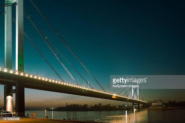 New Railway bridge, Belgrade Serbia
