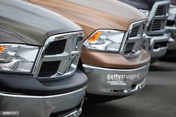 New Rams at a Car Dealership