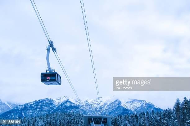 Neuen Rekord Zugspitze Seilbahn 2017 - Zugspitze Gletscher