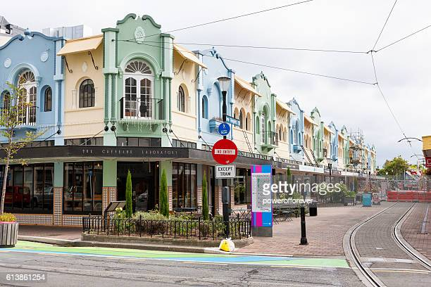 New Regent Street in downtown Christchurch, New Zealand