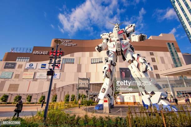 New Replica Giant Gundum  at Odaiba