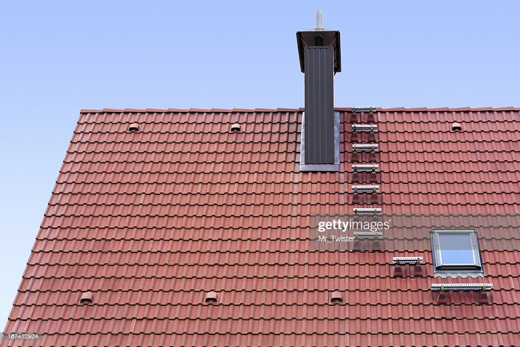 New roof : Stock Photo