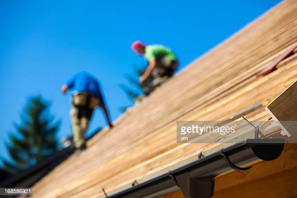 Nouveau sur le toit