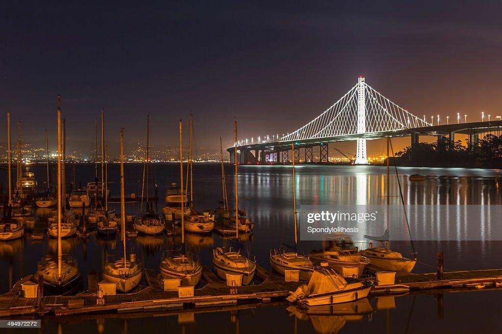 New San Francisco Bay Bridge : Stock Photo