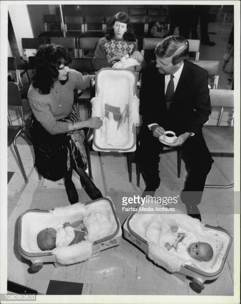 New scheme to hire infant car restraints Press conference at the Royal Womens Hospital in Paddington given by Barry Unsworth Anne Synnott who has had...