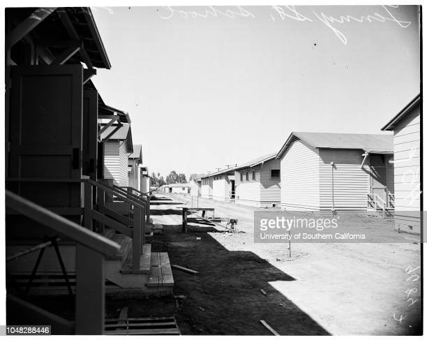 New schools in San Fernando Valley, 29 August 1952. John Foate ;Phil Webb ;Hiky Schwartz ;Robert Kaplan -- 8 years;Mrs Lennet Power ;Art Harris...