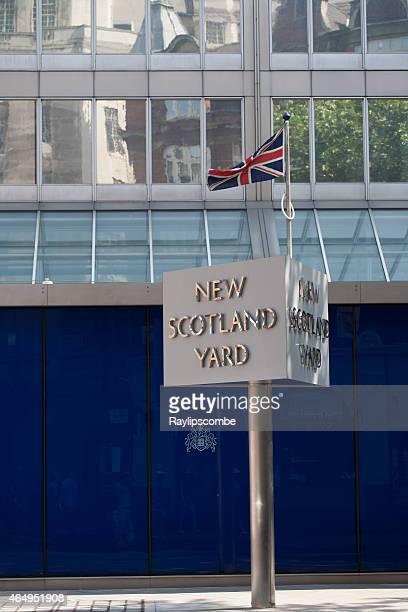 New Scotland Yard Iconic sign