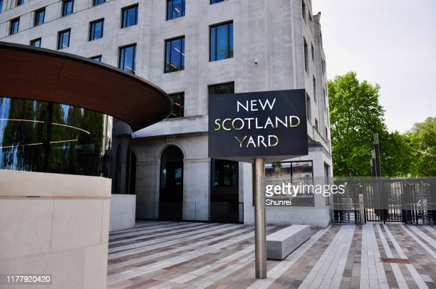 new scotland yard, london, england - new scotland yard stock pictures, royalty-free photos & images
