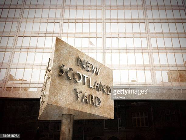 new scotland yard, london - new scotland yard stock pictures, royalty-free photos & images