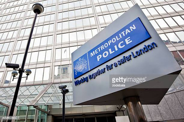 new scotland yard, metropolitan police hq in london - metropolitan police stock pictures, royalty-free photos & images