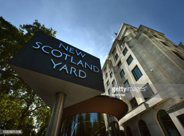 new scotland yard - metropolitan police stock pictures, royalty-free photos & images