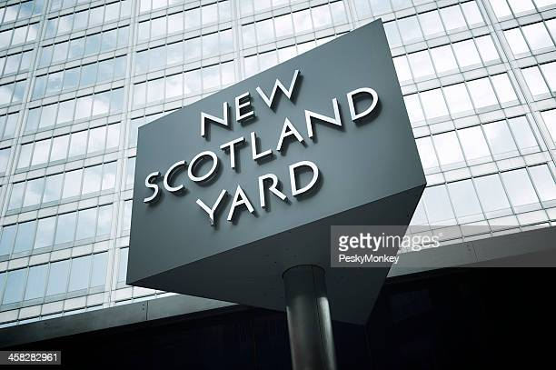 New Scotland Yard Sign London