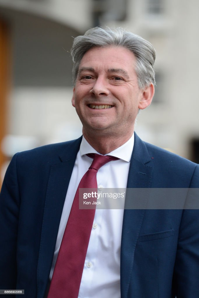 New Scottish Labour leader Richard Leonard on the way to address a Unite union demonstration outside the Scottish Parliament against blacklisting of workers by construction companies, on December 6, 2017 in Edinburgh, Scotland.