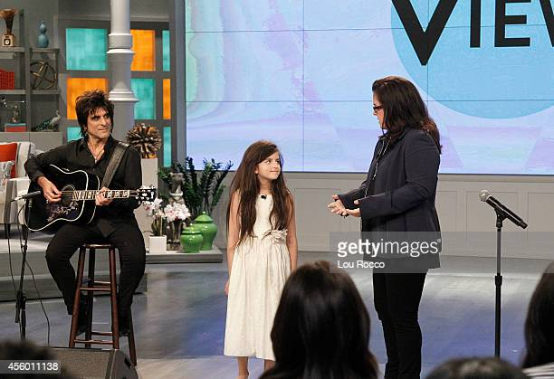 THE VIEW A new season of The View begins with Moderator Whoopi Goldberg Rosie ODonnell and new hosts Rosie Perez and Nicolle Wallace Angelina Jordan...