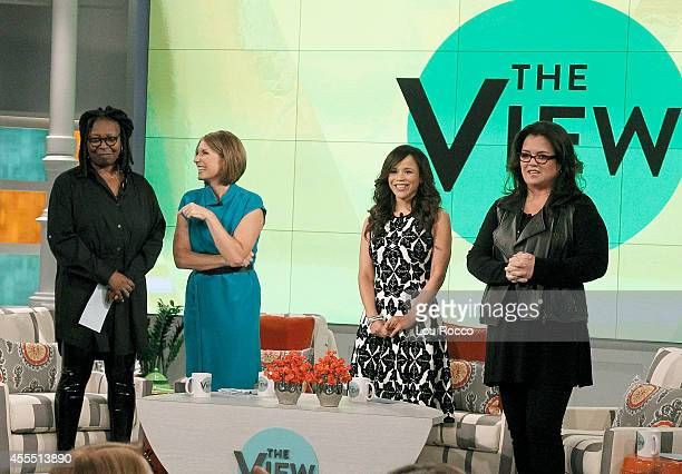 THE VIEW A new season of The View begins with Whoopi Goldberg Rosie ODonnell and new hosts Rosie Perez and Nicolle Wallace All the excitement aired...