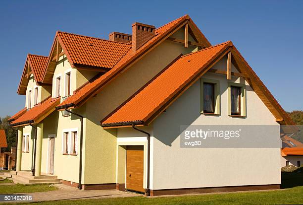 semi detached house ストックフォトと画像 getty images