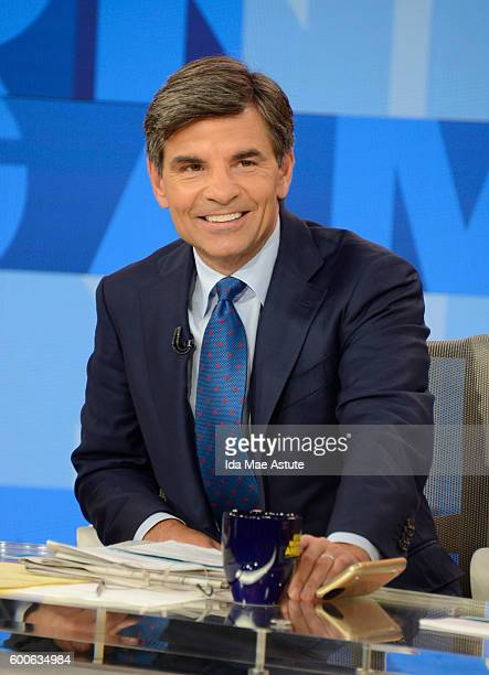 AMERICA A new set is unveiled on GOOD MORNING AMERICA 9/8/16 airing on the Walt Disney Television via Getty Images Television Network GEORGE