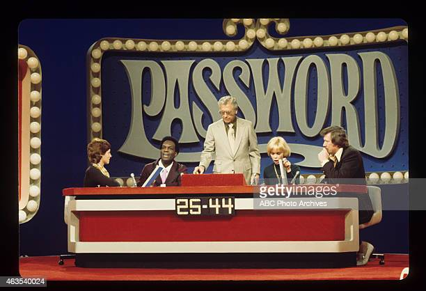 PASSWORD New Set Show Coverage Shoot Date March 10 1975 CONTESTANT