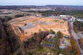 New Shopping Center Construction