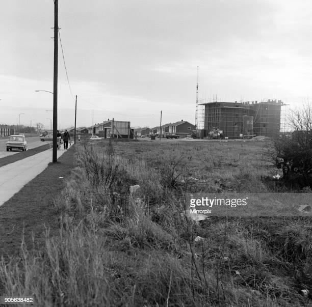 New shopping centre, Norton, 1971.