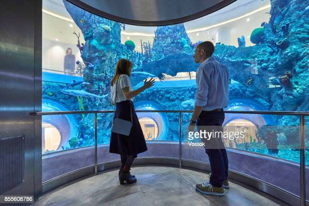 New Shopping Mall in Moscow with the biggest aquarium in the centre