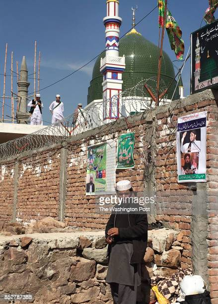 New shrine built to honor Mumtaz Qadri in Barakaho, Pakistan on February 26, 2017. Qadri murdered a liberal politician but is viewed by some as a...