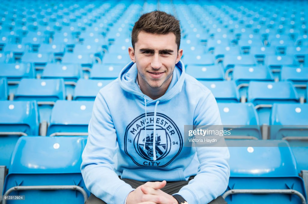 Manchester City Unveil New Signing Aymeric Laporte